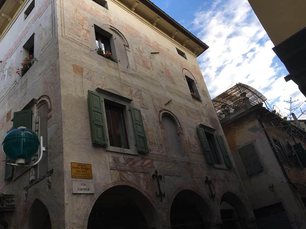 affreschi palazzo stringher levrini