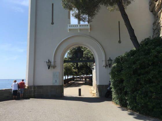 Entrata al Castello di Miramare