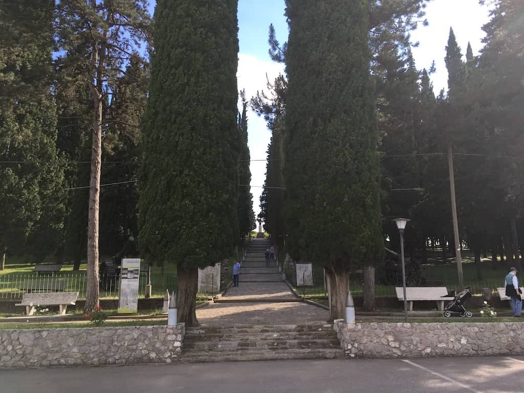 Entrata Colle Sant Elia