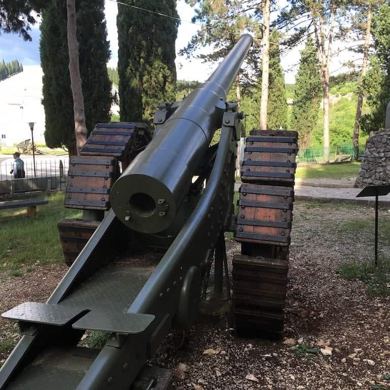 cannone Colle Sant Elia