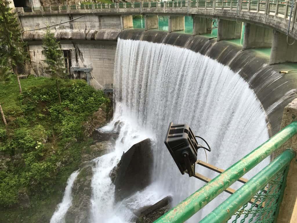 Cascata della diga