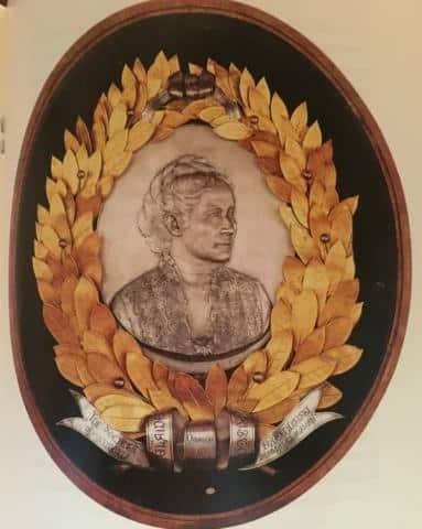Medaglione argenteo dalla famiglia Capranica del Grillo a Cividale