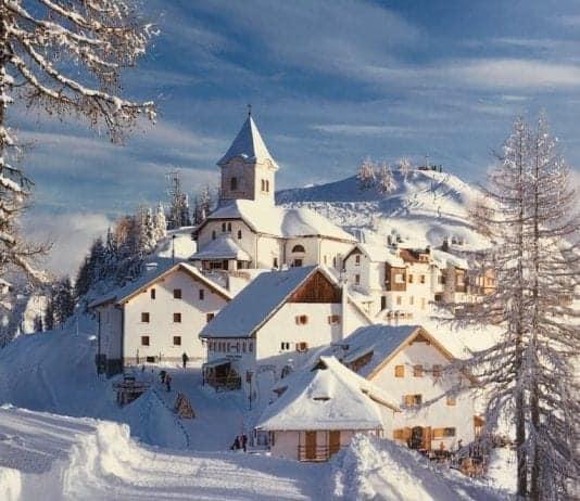 monte santo Lussari - tarvisio
