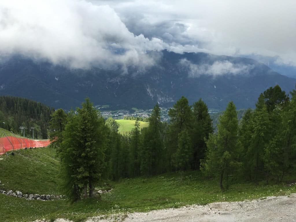 Paesaggio Monte Lussari