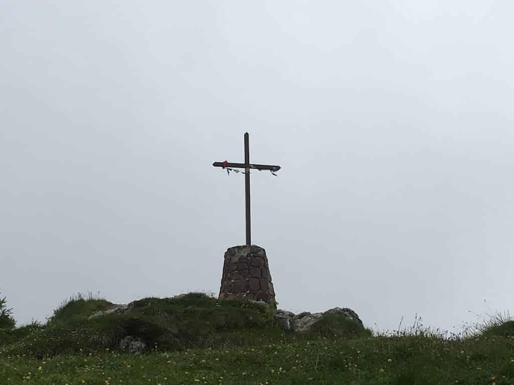 Croce sul monte lussari