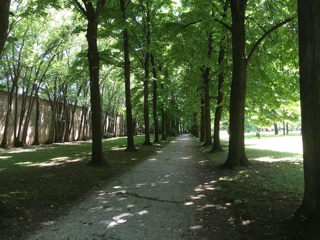 passeggiata nel parco di Villa Manin