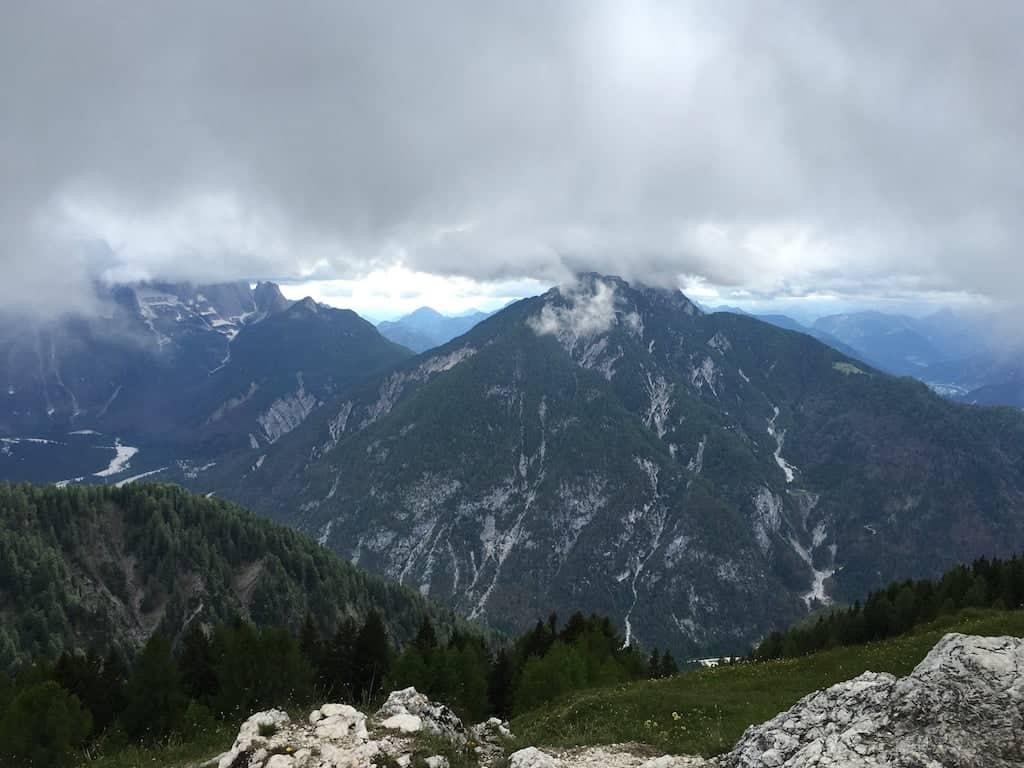 Vista monte Lussari