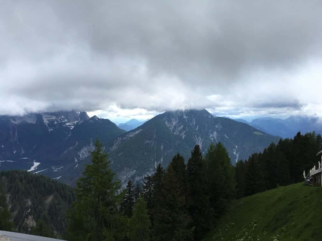 Vista dal Monte Lussari