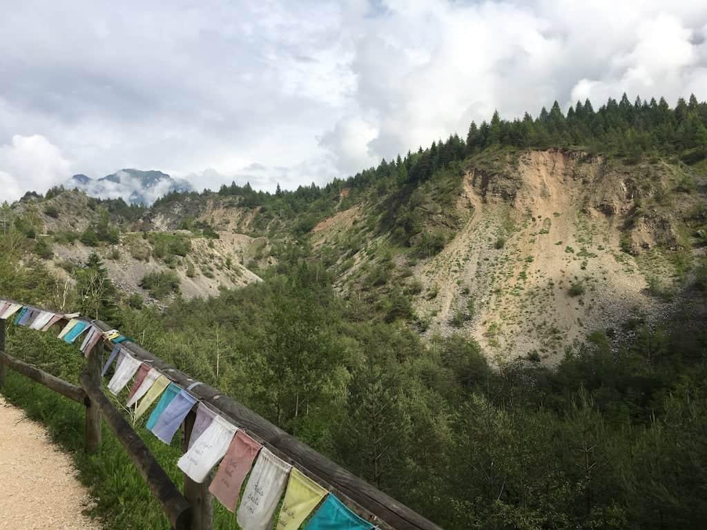 I resti della montagna del vajont