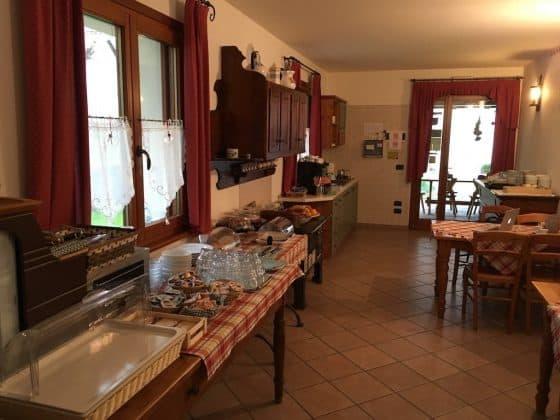 Sala per la colazione Casa Luis