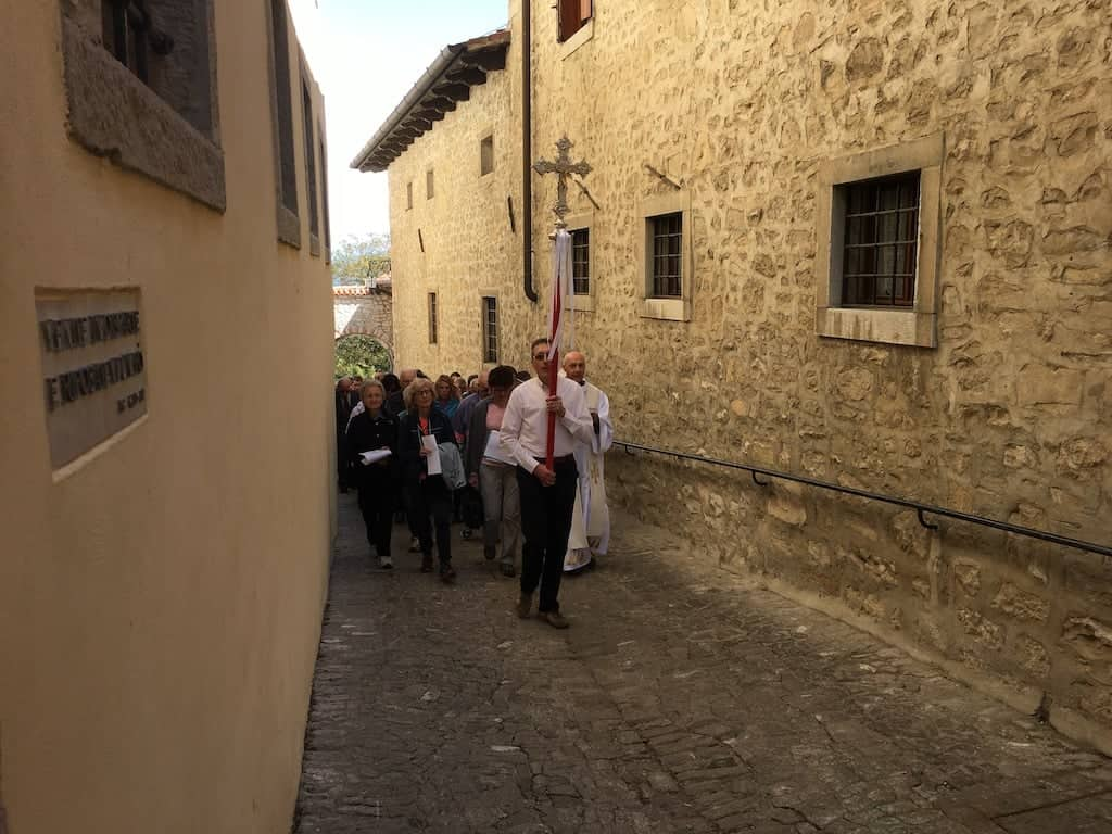 Processione dei fedeli