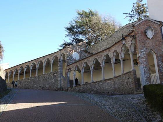 Salita al Castello di Udine