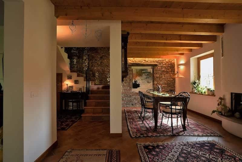Sala per le colazioni Bed and Breakfast Trecuori