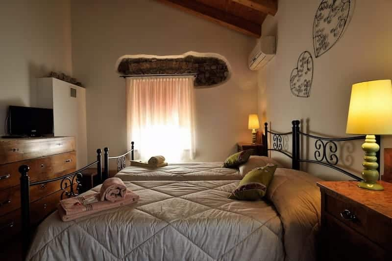 Camera doppia Bed and Breakfast Trecuori
