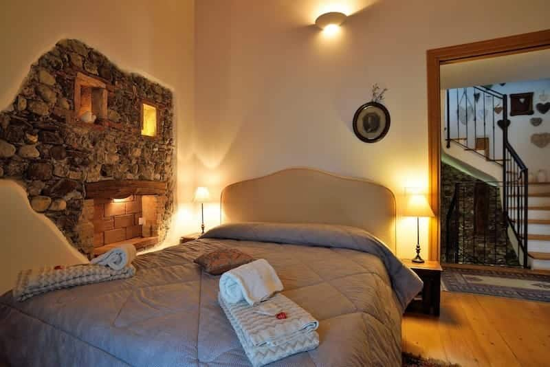 Stanza da letto Bed and Breakfast Trecuori