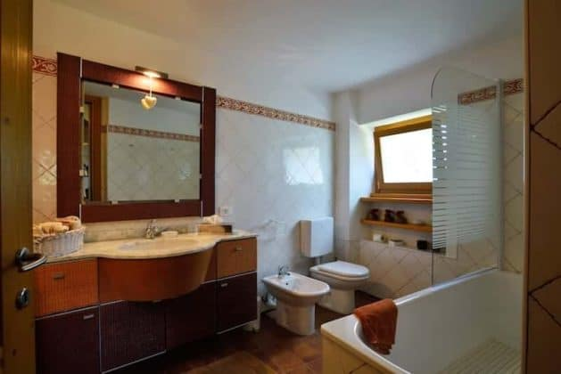 Bagno camere Bed and Breakfast Trecuori