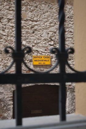 vista dalla finestra sulla casa medievale Cividale del Friuli