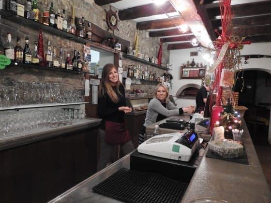 Bar della pizzeria