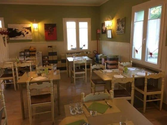 Sala da pranzo della Vineria Vencò