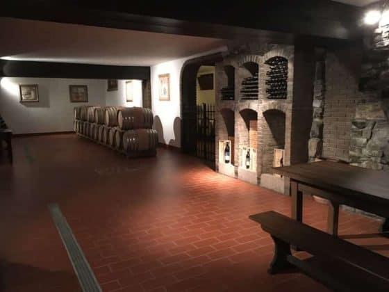 Cantina per ospitare i gruppi Vineria Vencò