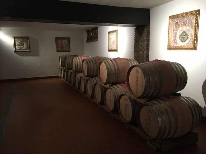 Träfat för Vineria Vencò-vinet