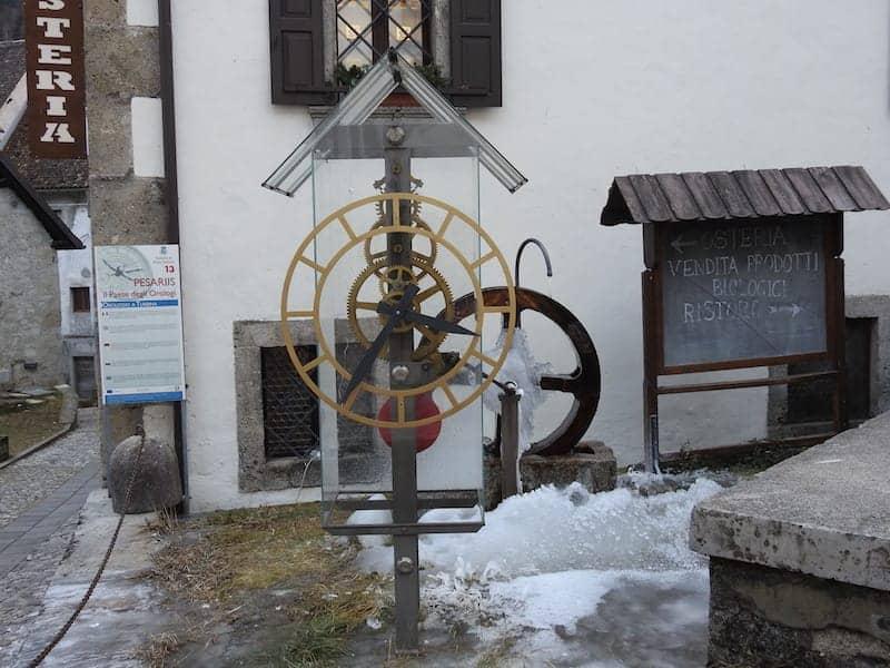 Orologio a Turbina Paesariis