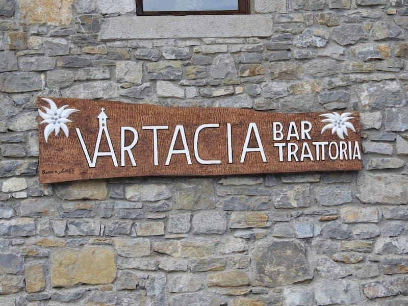 Bar trattoria a Savogna