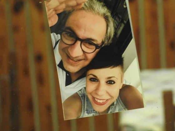 Foto della titolare e il padre
