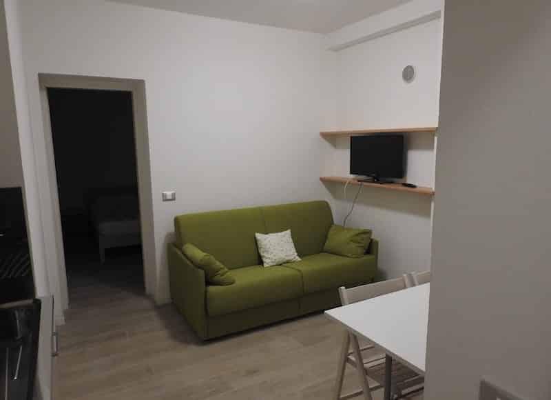 Divano letto appartamento Paolo Solari