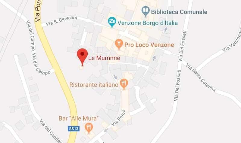 Mappa di Venzone