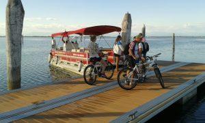 Trasporto biciclette Aquileia-Grado