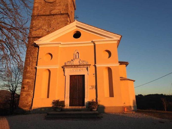 Visita alle Valli del Natisone - chiesa a Stregna
