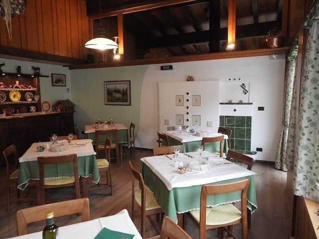 Sala da pranzo ristorante da Sardo