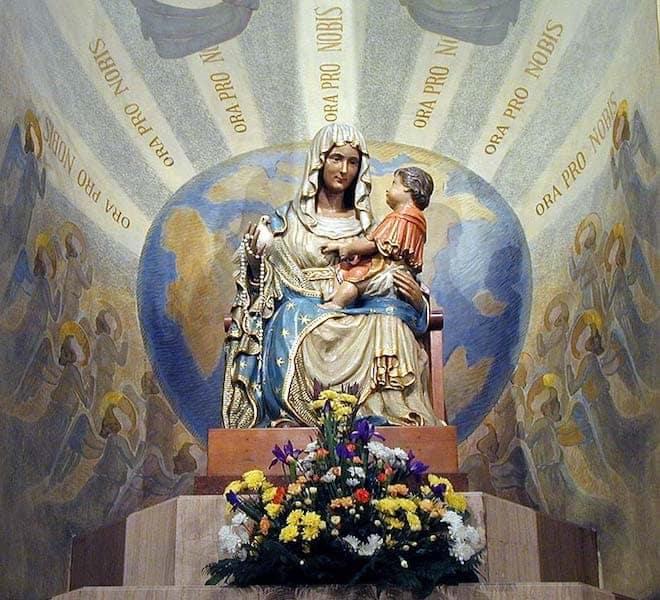 La Madonna Missionaria a Tricesimo