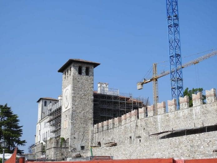 architettura castello di colloredo