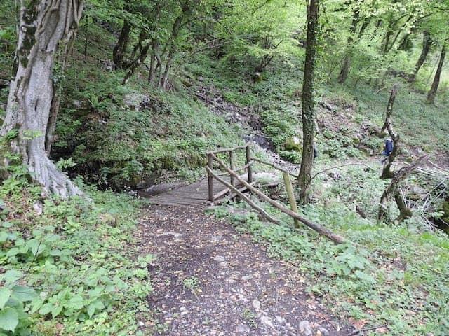 Sentiero per la miniera