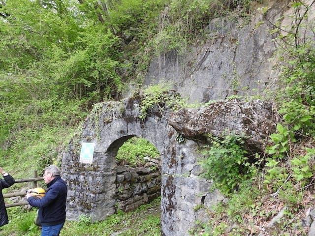 Inträde till Cludinico-gruvan