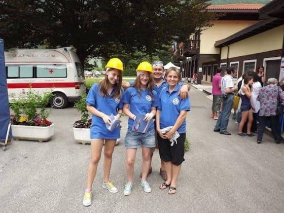 volontari della proloco di somplago