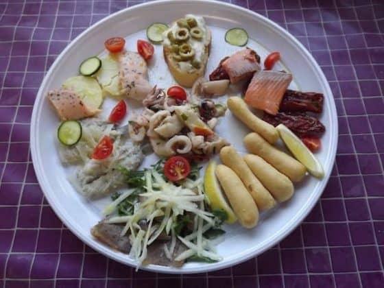 piatto di pesce misto