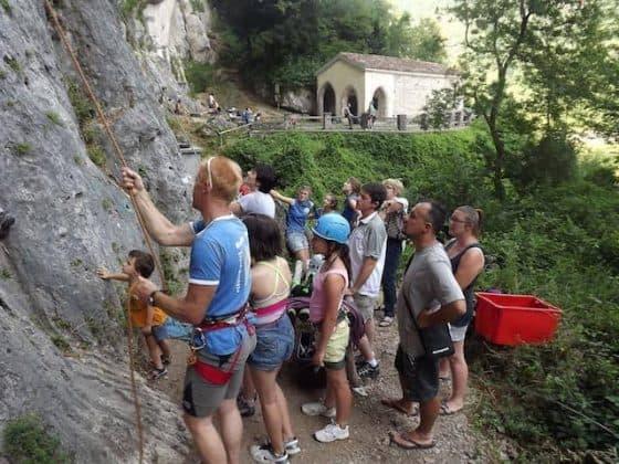 scalata roccia