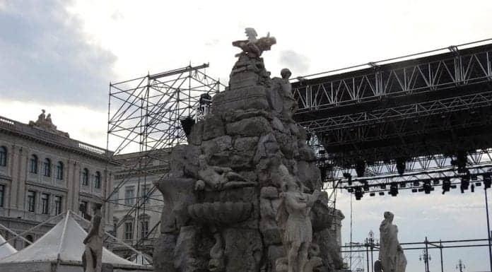 Fontana dei Quattro Continenti