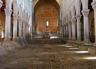 tidig kristen mosaik