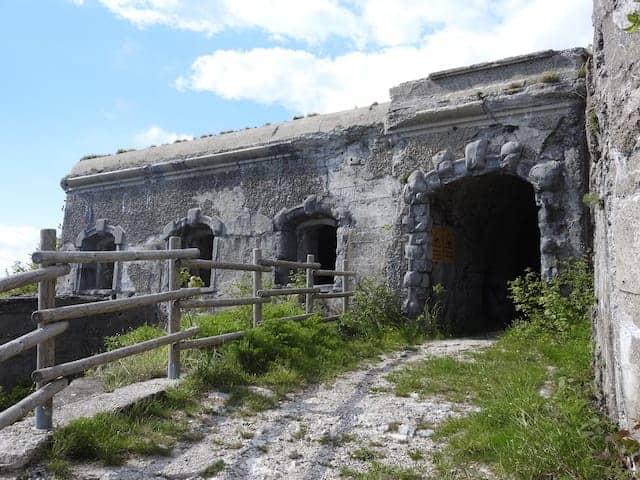 resti del Forte del Monte Festa
