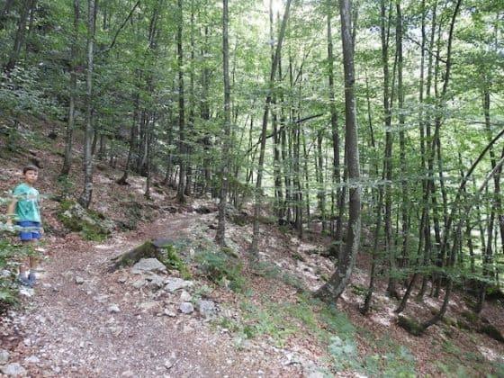 sentiero per il Fontanone