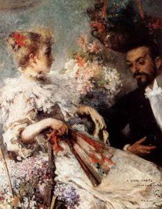 Ritratto di Italo Svevo con la sorella Ortensia