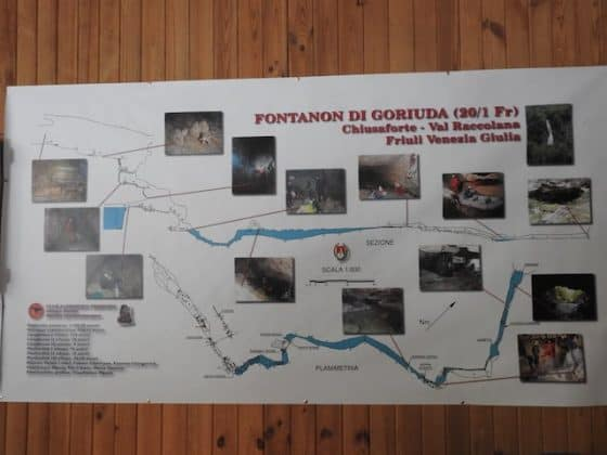 Attività presso la cascata di Goriuda