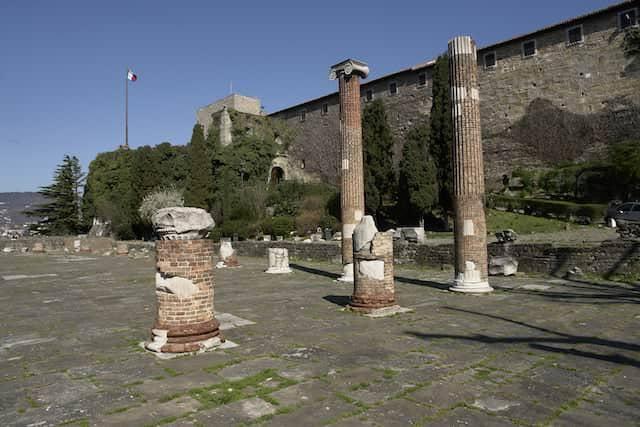 La Basilica romana sul Colle di San Giusto a Trieste