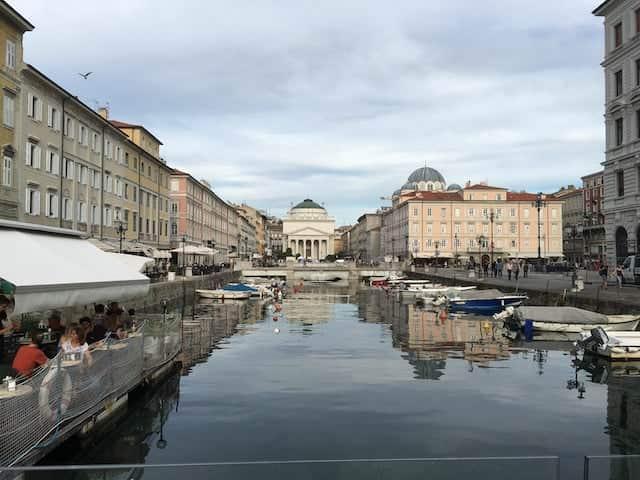 Canal grande a Trieste