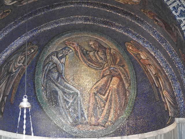 Mosaico chiesa San Giusto