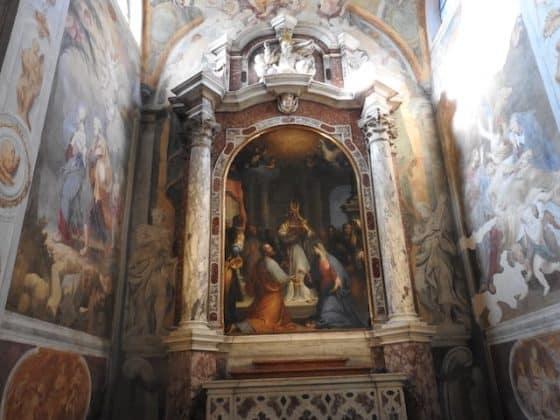 Altare della cattedrale di San Giusto